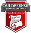 Logo Recognizing The Wilson Law Firm's affiliation with DUI Defense Lawyers Association Founding Member